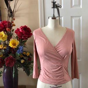 BCBG MaxAzria Wrap blouse